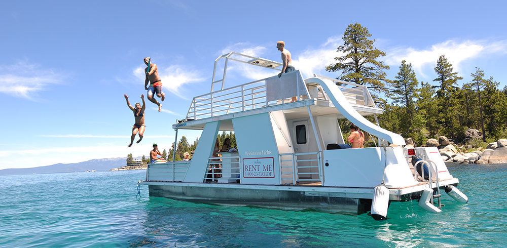 Weekender Party Boat Rental Zephyr Cove